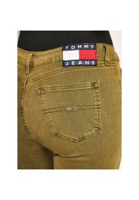 Zielone jeansy slim Tommy Jeans