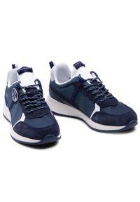 North Sails - Sneakersy NORTH SAILS - RW/01 Base -005 Navy. Okazja: na co dzień. Kolor: niebieski. Materiał: materiał, skóra ekologiczna. Szerokość cholewki: normalna. Styl: casual