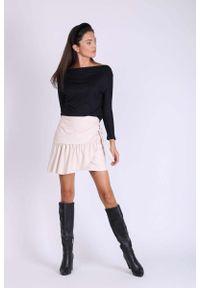Beżowa spódnica mini Nommo