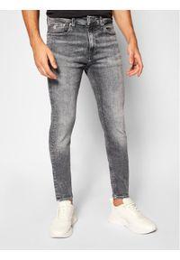 Calvin Klein Jeans Jeansy Skinny Fit J30J316016 Szary Skinny Fit. Kolor: szary