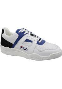 Białe sneakersy Fila z cholewką