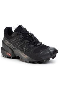 Czarne buty do biegania salomon Salomon Speedcross, z cholewką