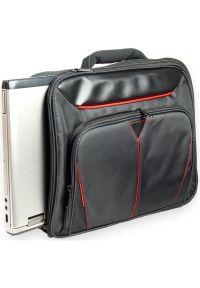 Czarna torba na laptopa SKINK