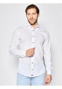 Strellson Koszula Carlo2 30020197 Biały Regular Fit. Kolor: biały