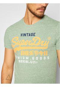Zielony t-shirt Superdry