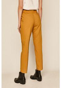 Żółte spodnie materiałowe medicine