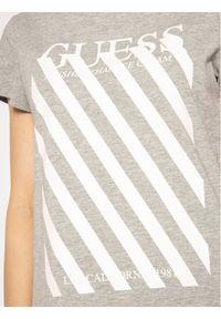 Guess T-Shirt Creamy Tee W0GI57 JA900 Szary Regular Fit. Kolor: szary