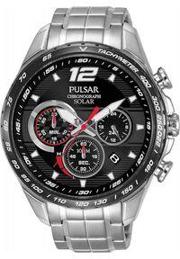 Zegarek Pulsar Zegarek Pulsar Solar męski chronograf PZ5019X1 uniwersalny