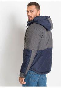 Szara kurtka bonprix na zimę, melanż #6
