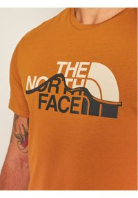 Brązowy t-shirt The North Face
