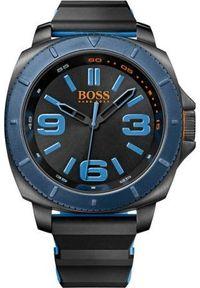 Czarny zegarek HUGO BOSS