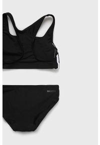 Czarny strój kąpielowy adidas Performance z odpinanymi ramiączkami