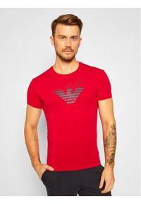 Czerwony t-shirt Emporio Armani Underwear