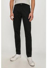 Guess - Spodnie. Kolor: czarny. Materiał: tkanina