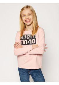Różowa bluzka Liu Jo Kids
