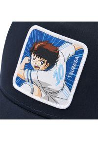 CapsLab - Czapka z daszkiem CAPSLAB - Captain Tsubasa CL/TSU/1/TSU2 Biały Granatowy. Kolor: biały, wielokolorowy, niebieski. Materiał: materiał, bawełna, poliester