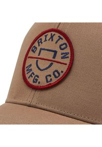Beżowa czapka z daszkiem Brixton