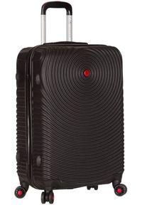 Czarna walizka Sirocco wakacyjna