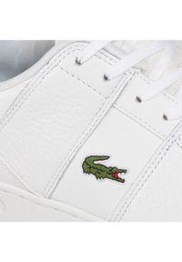 Lacoste Sneakersy Thrill 0120 1 Sma 7-40SMA007821G Biały. Kolor: biały