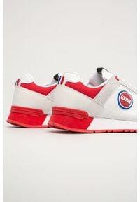 Colmar - Buty. Nosek buta: okrągły. Zapięcie: sznurówki. Kolor: biały. Materiał: guma, skóra ekologiczna, syntetyk, materiał, zamsz. Szerokość cholewki: normalna #4