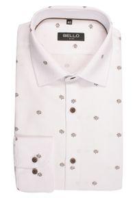 Elegancka koszula Bello na spotkanie biznesowe, długa, z długim rękawem