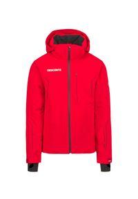 Descente - Kurtka narciarska DESCENTE HECTOR. Materiał: lycra, materiał, tkanina, włókno, puch. Technologia: Thinsulate. Sport: narciarstwo