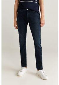 Niebieskie jeansy Mango Man