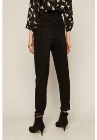 Czarne jeansy loose fit medicine