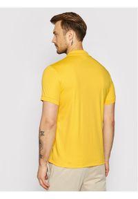 Lacoste Polo DH2050 Żółty Regular Fit. Typ kołnierza: polo. Kolor: żółty