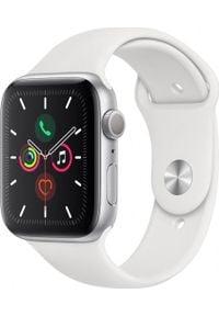 APPLE - Smartwatch Apple Watch 5 GPS+Cellular 40mm Silver Alu Biały (MWX12WB/A). Rodzaj zegarka: smartwatch. Kolor: biały