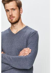 Niebieski sweter Tom Tailor Denim casualowy, na co dzień