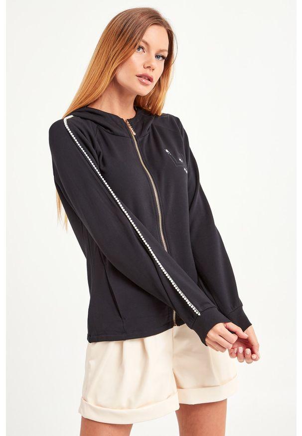 Bluza Liu Jo Sport z kapturem, sportowa, w kolorowe wzory
