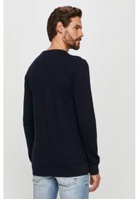 Niebieski sweter Clean Cut Copenhagen na co dzień, długi
