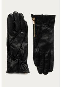 Czarne rękawiczki Morgan