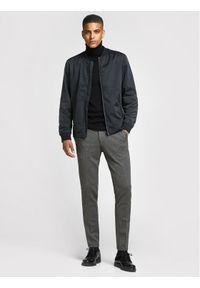 Jack & Jones - Jack&Jones Spodnie materiałowe Marco Phil 12173628 Szary Slim Fit. Kolor: szary. Materiał: materiał