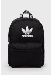 adidas Originals - Plecak. Kolor: czarny. Materiał: poliester