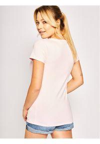 Różowy t-shirt Liu Jo Sport sportowy