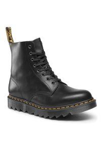 Czarne buty zimowe Dr. Martens z cholewką, casualowe, na co dzień