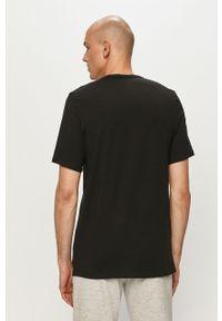 Czarny t-shirt Calvin Klein Underwear na co dzień, z nadrukiem