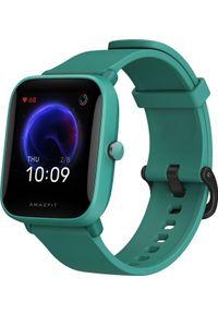 AMAZFIT - Smartwatch Amazfit Bip U Zielony (ZEG-SMW-0073). Rodzaj zegarka: smartwatch. Kolor: zielony