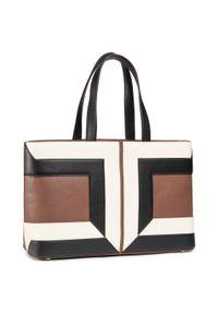 Brązowa torebka klasyczna Elisabetta Franchi klasyczna