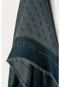 Guess - Chusta. Kolor: niebieski. Materiał: tkanina, materiał