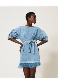 Niebieska sukienka TwinSet klasyczna