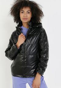 Czarna kurtka przejściowa Born2be #6