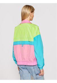 Kurtka przejściowa Tommy Jeans w kolorowe wzory