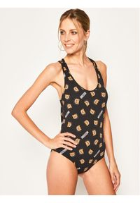 Czarna bluzka body Moschino Underwear & Swim #5