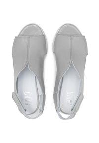 Szare sandały Simen
