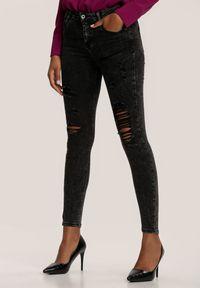 Szare jeansy Renee