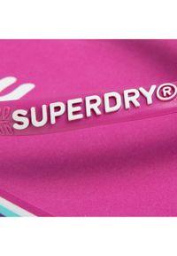Superdry Japonki Neon Rainbow Sleek Flip Flop WF310010A Różowy. Kolor: różowy #3