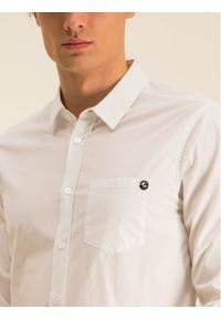 Biała koszula biznesowa Versace Jeans